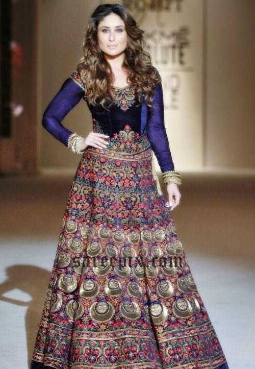hairstyles for ghagra choli | Lakme fashion week ...