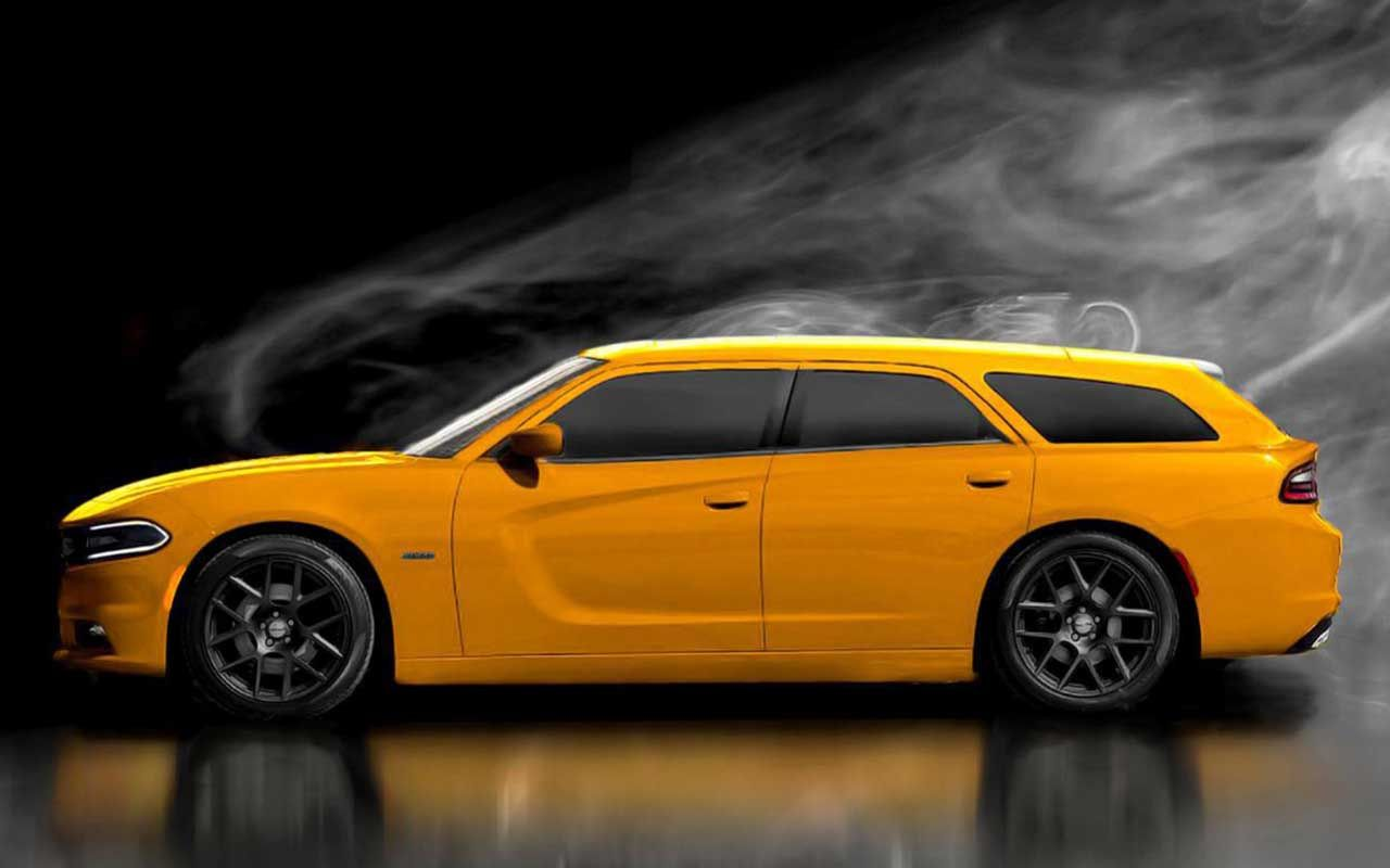 What a new dodge magnum might look like with the new 2015 front end and new body lines