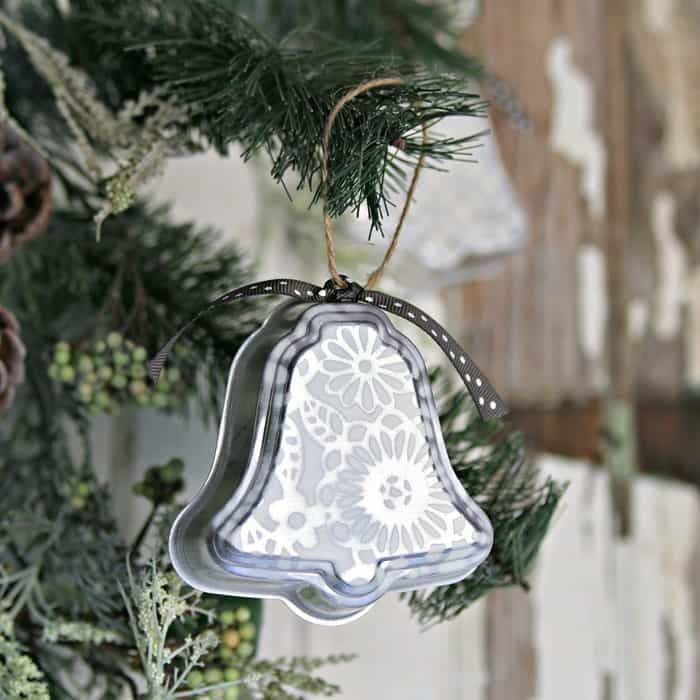Silver Bells Christmas Decorations Silver Bell Christmas Ornaments Handmade With Love  Ornament