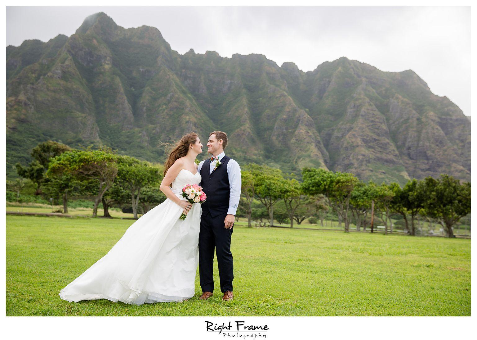 Rightframe Kualoa Ranch Wedding Paliku Gardens Hawaii Destination