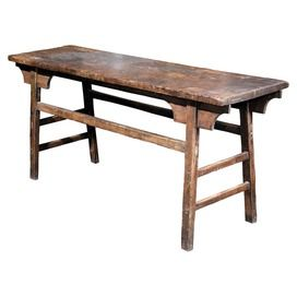 Vintage Clifton Work Table in Antique Natural
