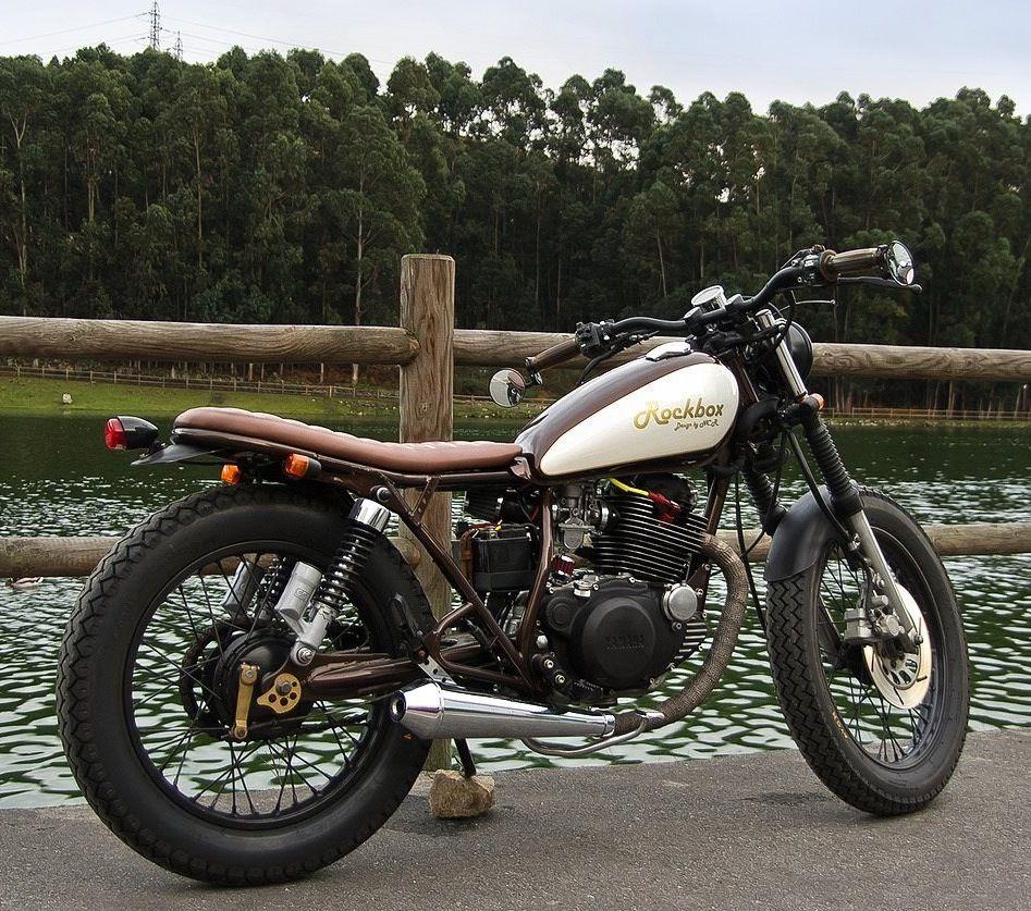 46 Best Yamaha Sr 250 Cafe Racers Images