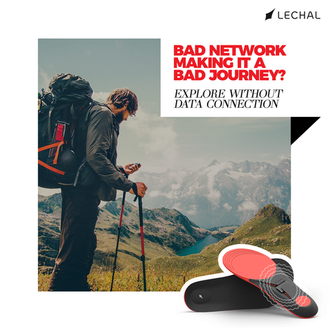Lechal offers precise navigation with detailed route