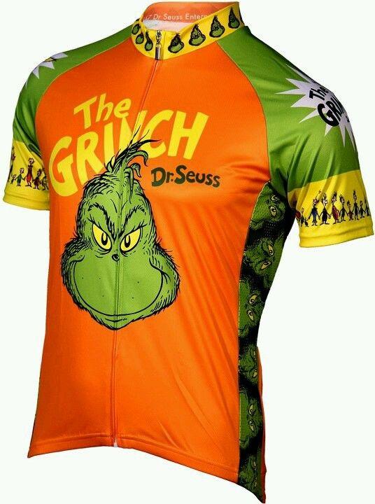 The Grinch cycling shirt  99eeb624b
