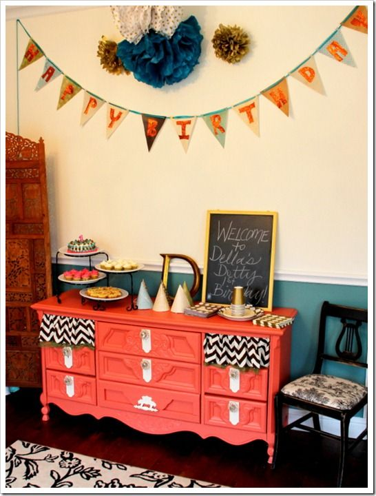 A Quite Coral Dresser Revival Creative Decor Diy Furniture
