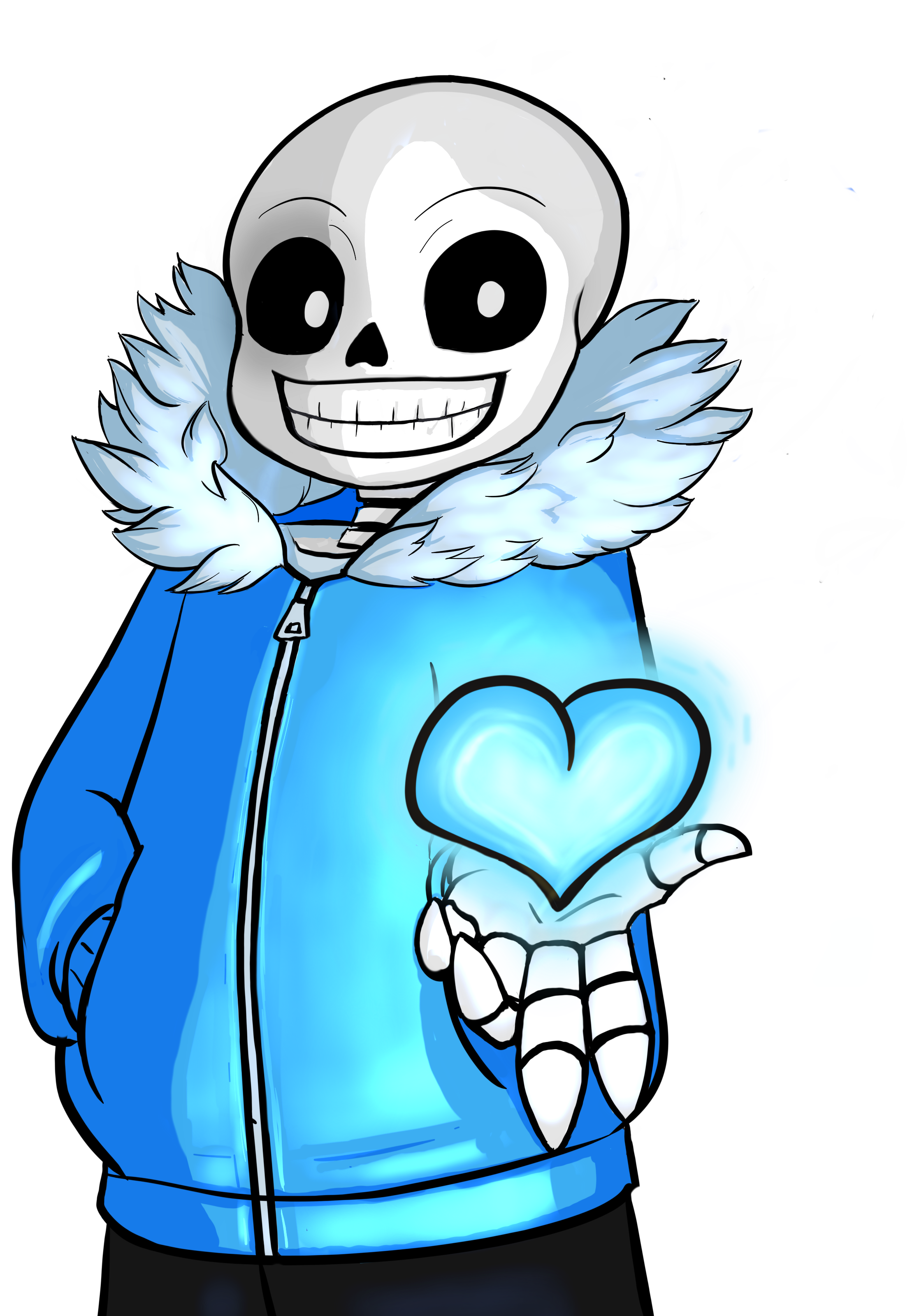 Sans Gives Heart Themed Items On Red Bubble Undertale Sans Redbubble Heart Themed Blue Heart Anime
