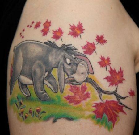 KaLih Eeyore  IAah von Winnie Pooh  Eeyore Tattoo and Eeyore