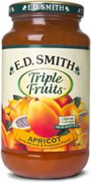 E. D. Smith Triple Fruits Apricot, Peach, Passion Fruit Jam.  Best jam in the world.
