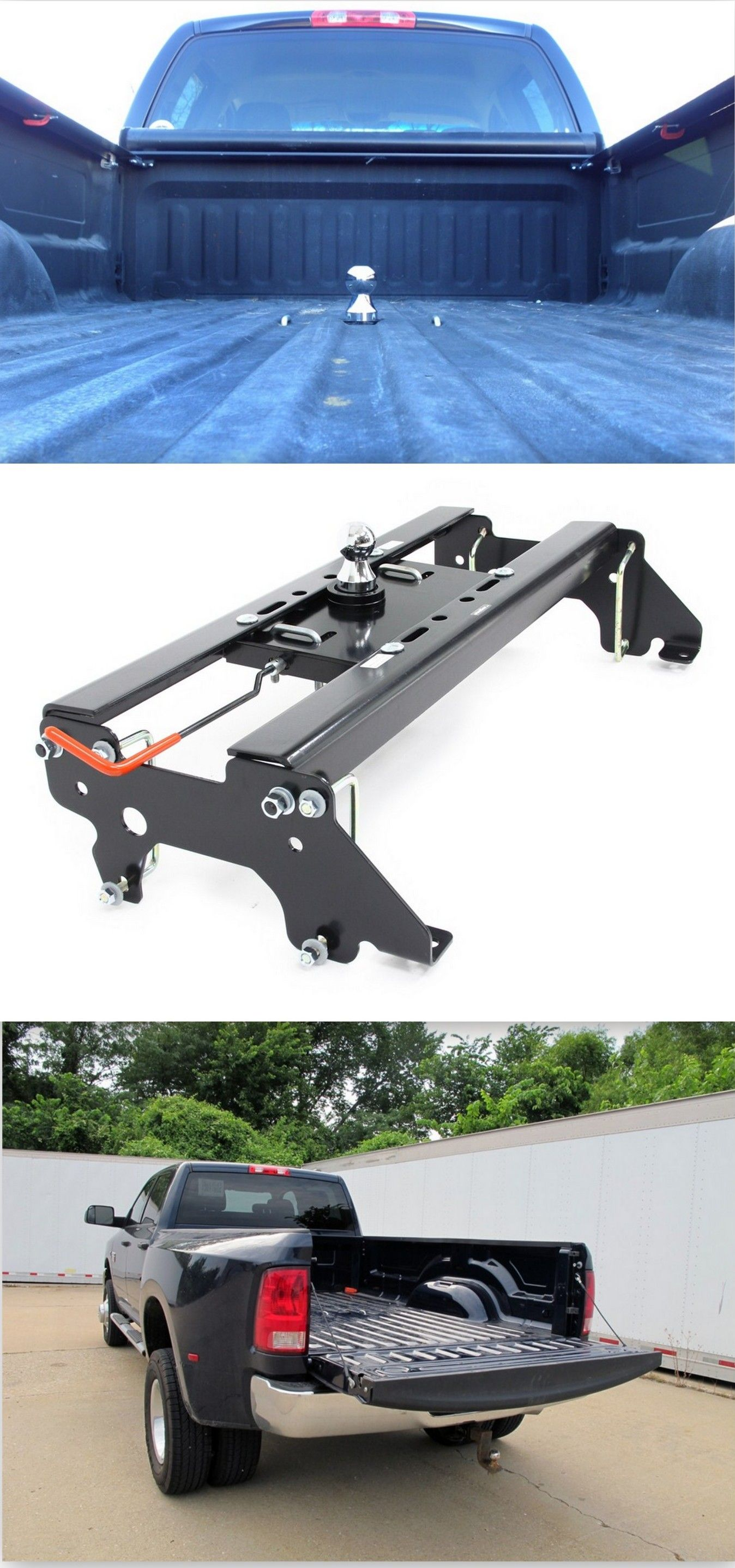 Hide-A-Goose Underbed Gooseneck Trailer Hitch Installation Kit - Dodge Ram  Trucks - 2012 Ram Pickup by Dodge