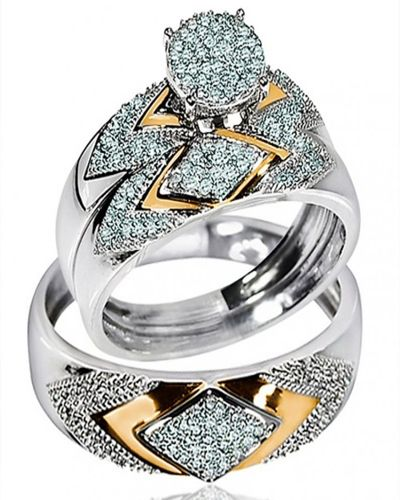 Zales Wedding Ring Sets For Him And Her Expensive Wedding Rings Camo Wedding Rings Wedding Ring Trio Sets