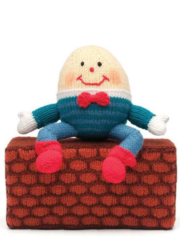 Humpty Dumpty Knitted Toy   toys   Pinterest   Kuscheltiere ...