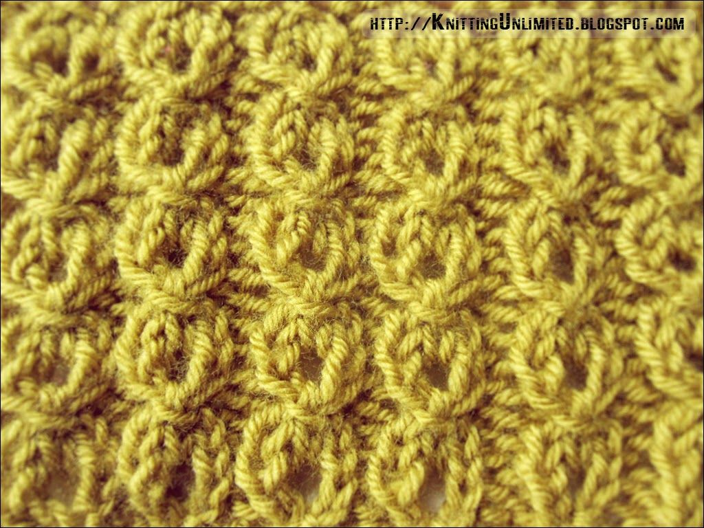 Mock cables ribbing stitch pattern. knittingunlimited.blogspot.com Knitting...
