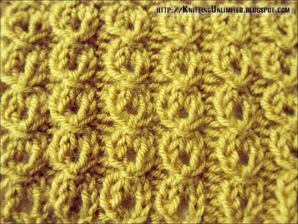 Mock cables ribbing stitch pattern. knittingunlimited.blogspot.com ...