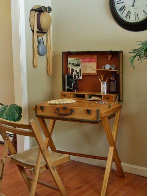 1001 ideen f r schreibtisch selber bauen freshideen wohnen. Black Bedroom Furniture Sets. Home Design Ideas