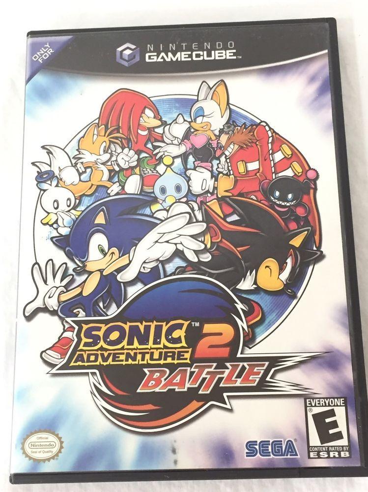 Sonic Adventure 2 Battle Gamecube Game Nintendo Video Game Cib W Box Manual Disc Nintendo Sonic Adventure Sonic Adventure 2 Gamecube Games