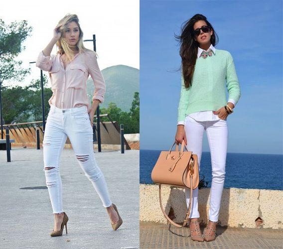 Pantalón blanco: fotos de cómo combinarlo (Foto) | Ella Hoy