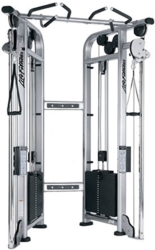 Life Fitness Signature Series Cable Motion Dual Adjustable Pulley Fitness Superstore In 2020 Fit Life Gym Home Gym Design