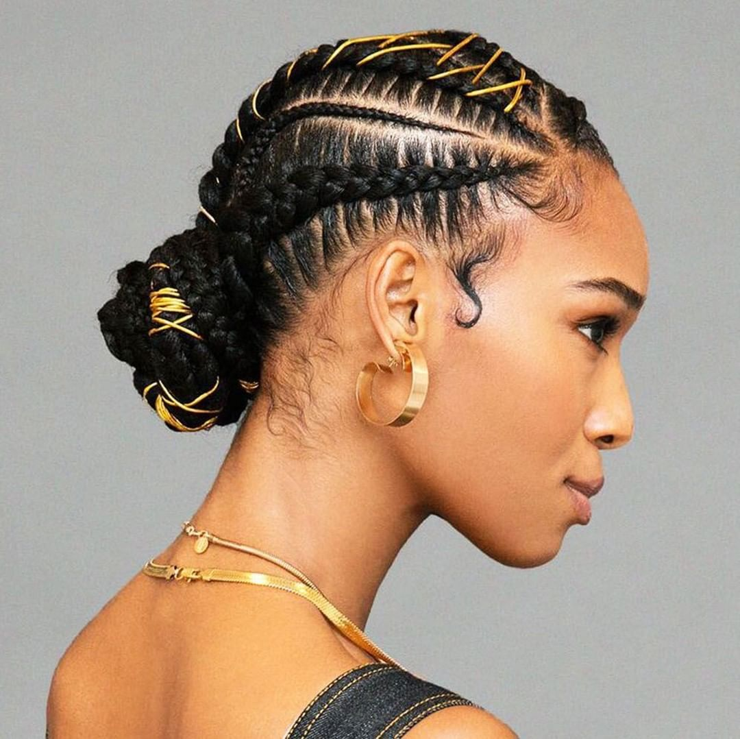New The 10 Best Hairstyles With Pictures A Braided Bun Doesn T Have To Be Plain It Can Be Dressed Up With T Hair Styles Natural Hair Styles Gorgeous Hair