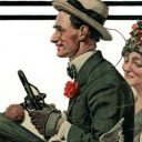 Norman Rockwell S Cousin Reginald Norman Rockwell Rockwell Norman