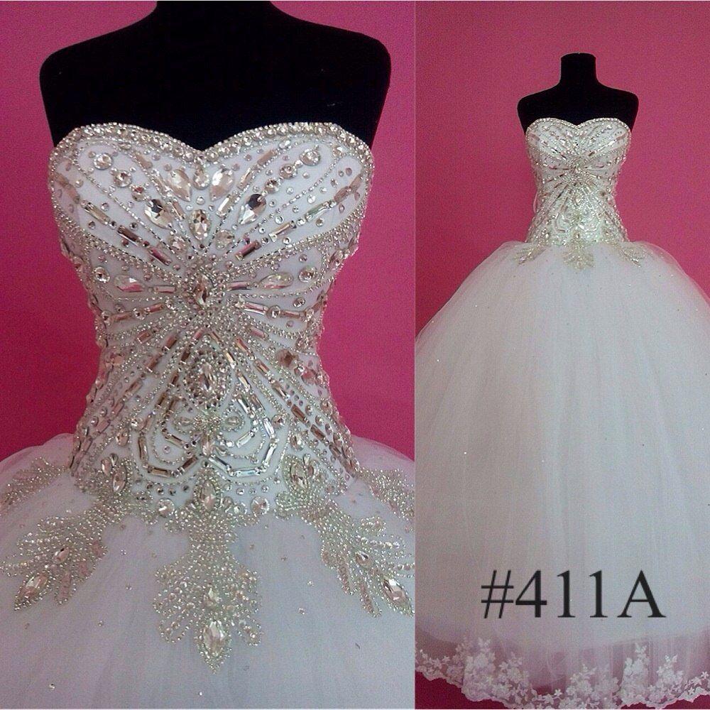 Elegant Princess Ball Gown . We do wholesale and custom made wedding ...