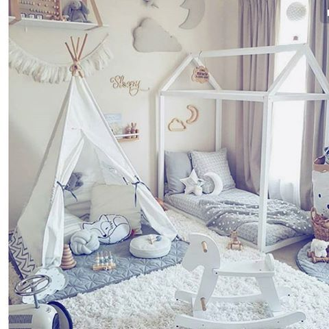 We Are Loving This Bedroom Teepee Bed Pinterest
