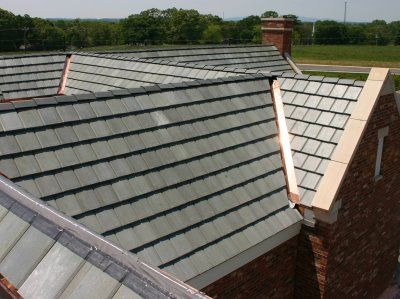 Concrete Roof At Www Alpine Roofing Co Uk Concrete Roof Tiles Roof Installation Roofing