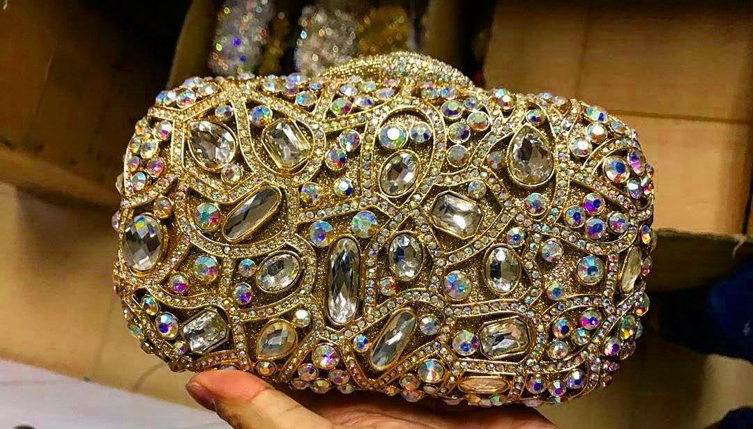 Swarovski Crystal Clutch Bag Evening Bags 123 Crystalclutch