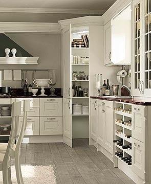 White Corner Kitchen Cabinet Corner Kitchen Pantry | Home Design Ideas | Corner kitchen pantry