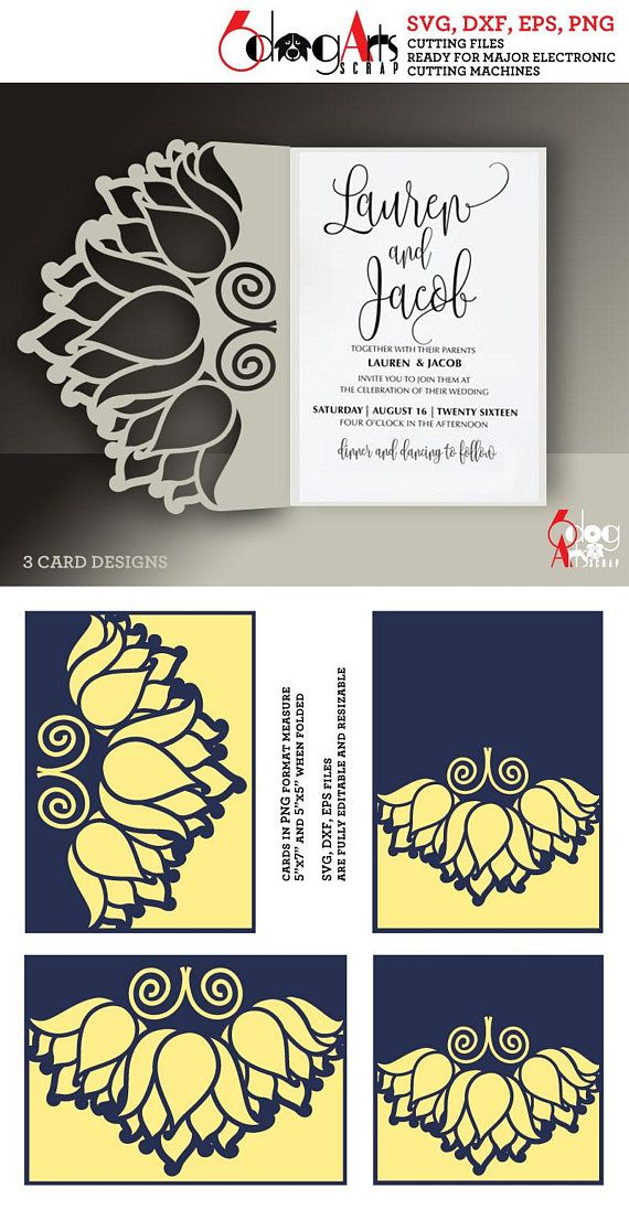 3 lotus lace card templates digital cut svg dxf files wedding 3 lotus lace card templates digital cut svg dxf files wedding invitation stationery laser cuttable download silhouette cricut jb 834 stopboris Image collections