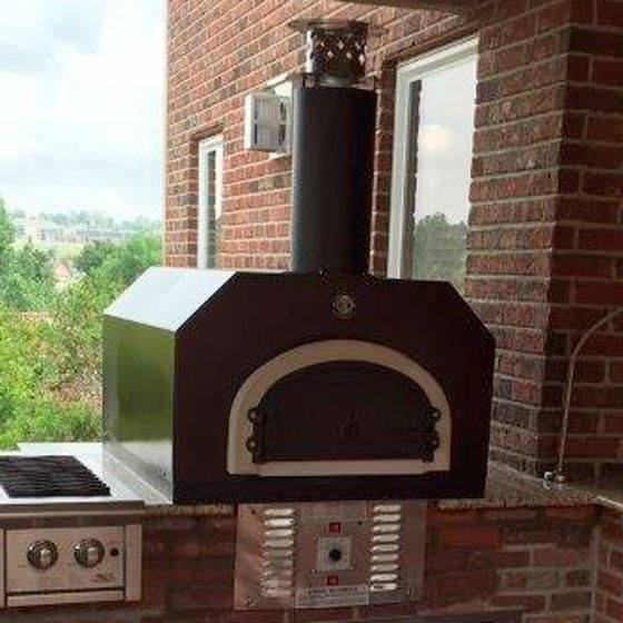 Cbo 750 Countertop Hybrid Gas And Wood Burning Oven Gas Pizza