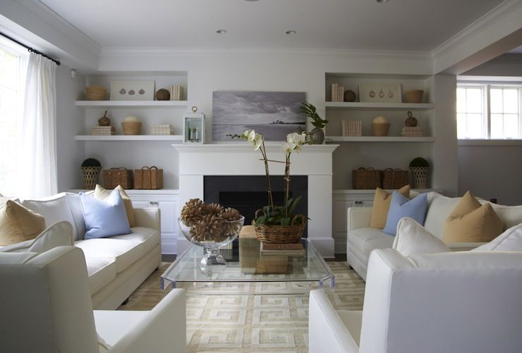 Lynn Morgan Design Beautiful Living Room Design With U Shaped