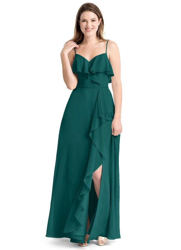8e195799b48 Shop Azazie Bridesmaid Dress - Tami in Chiffon. Find the perfect  made-to-order bridesmaid dresses for your bridal party in your favorite  color