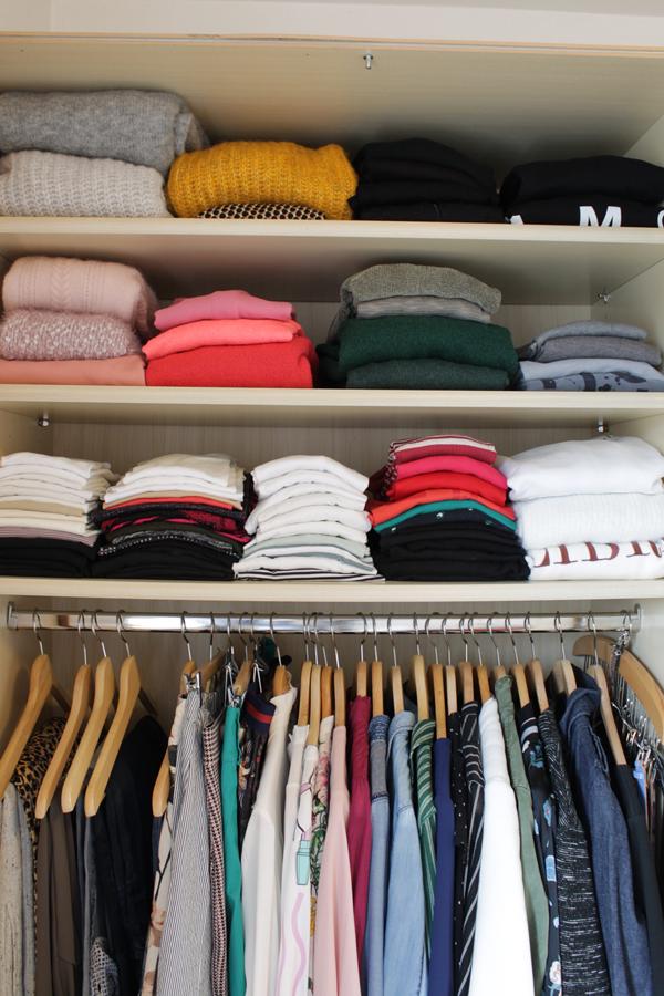 Ordnung Im Kleiderschrank Ideen