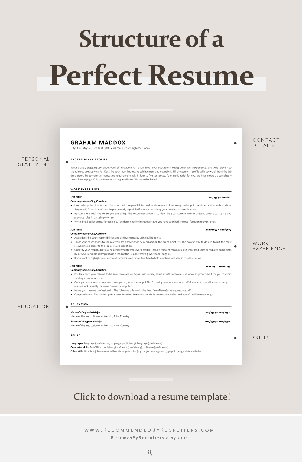 Structor of a resume action research free papers