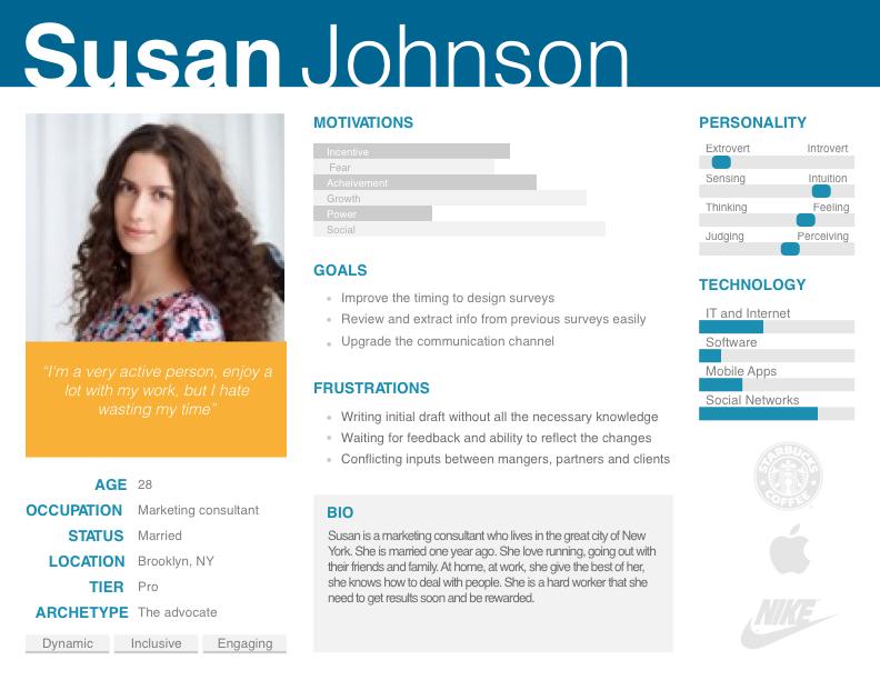 UX Persona #UX #Persona #template | UI/UX Personas | Pinterest ...