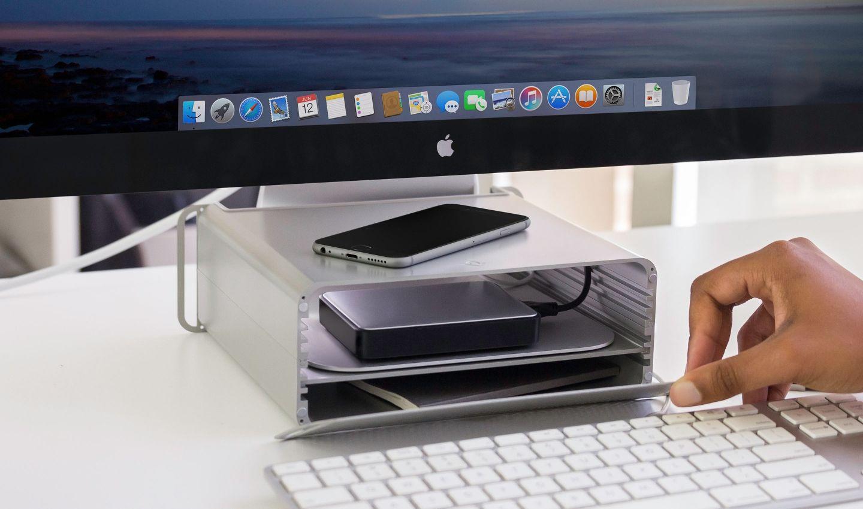 Hirise Pro Imac Stand Imac Desk Setup Imac