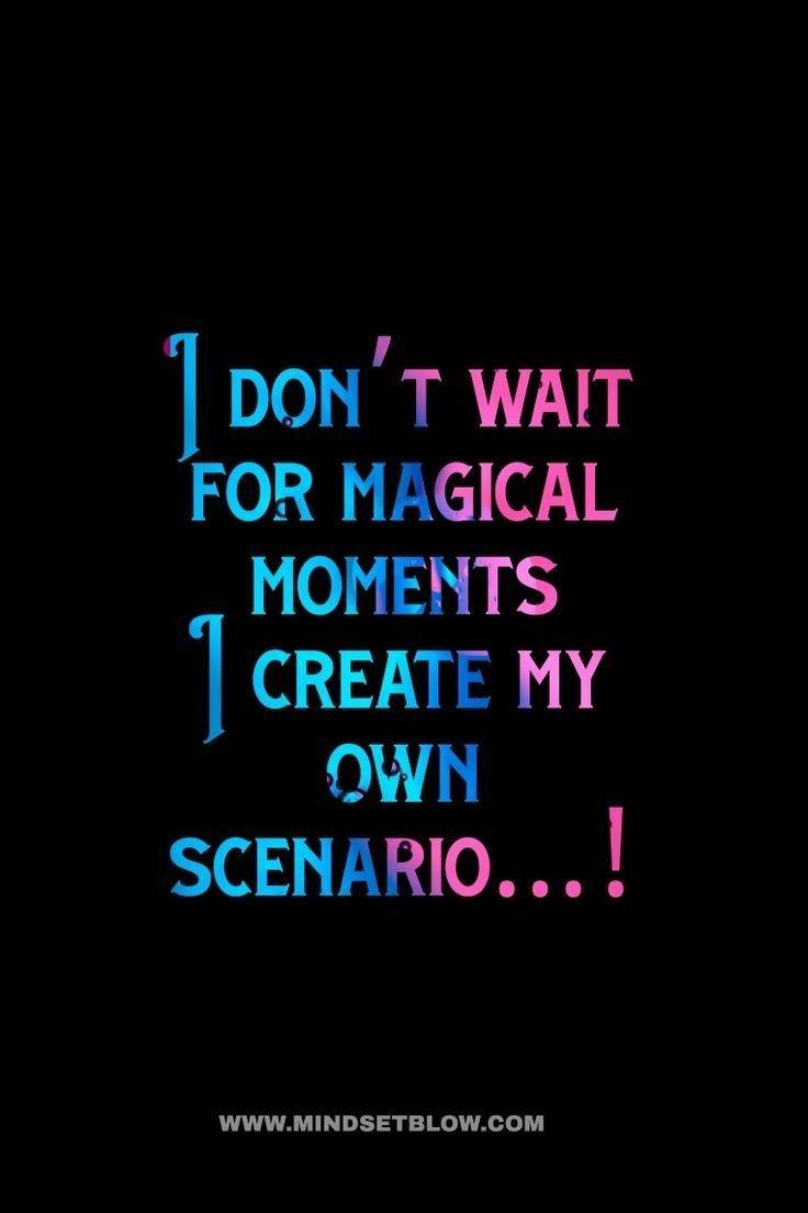 Create your own scenario