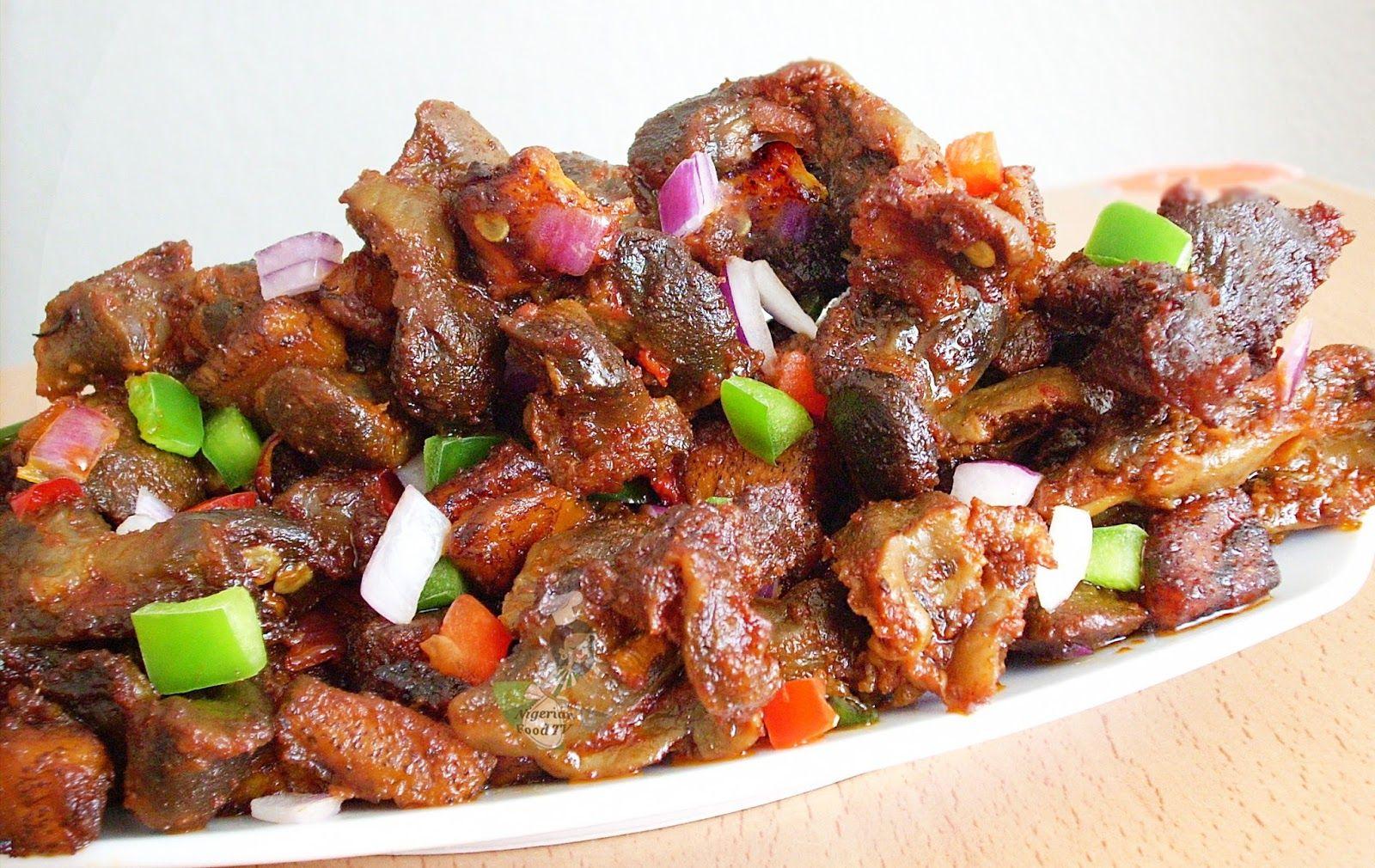 chicken gizzard recipes Gizdodo recipe,Nigerian Gizdodo