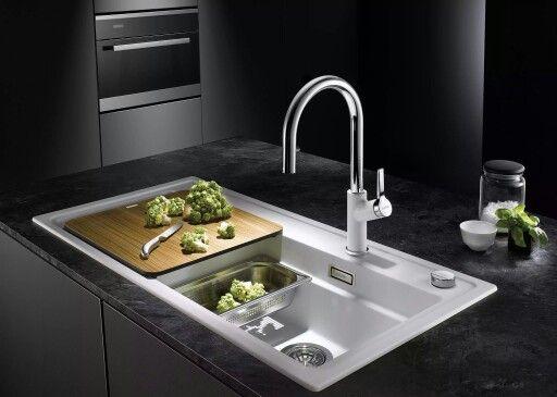 Blanco Zenar XL 6 S Dampfgarplus Küche Pinterest Kitchen - spülbecken küche keramik