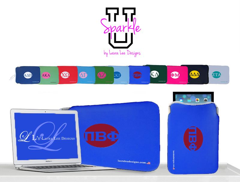 On the seventh day of Christmas my true love gave to me... an Pi Phi laptop case for me! #Pi Phi #laptop #ipad #holiday #SparkleU #LauraLeeDesigns #GreekLife Call us at 1-888-LLD-BAGS or order onlinehttp://www.lauraleedesigns.com/sorority-sleeves/