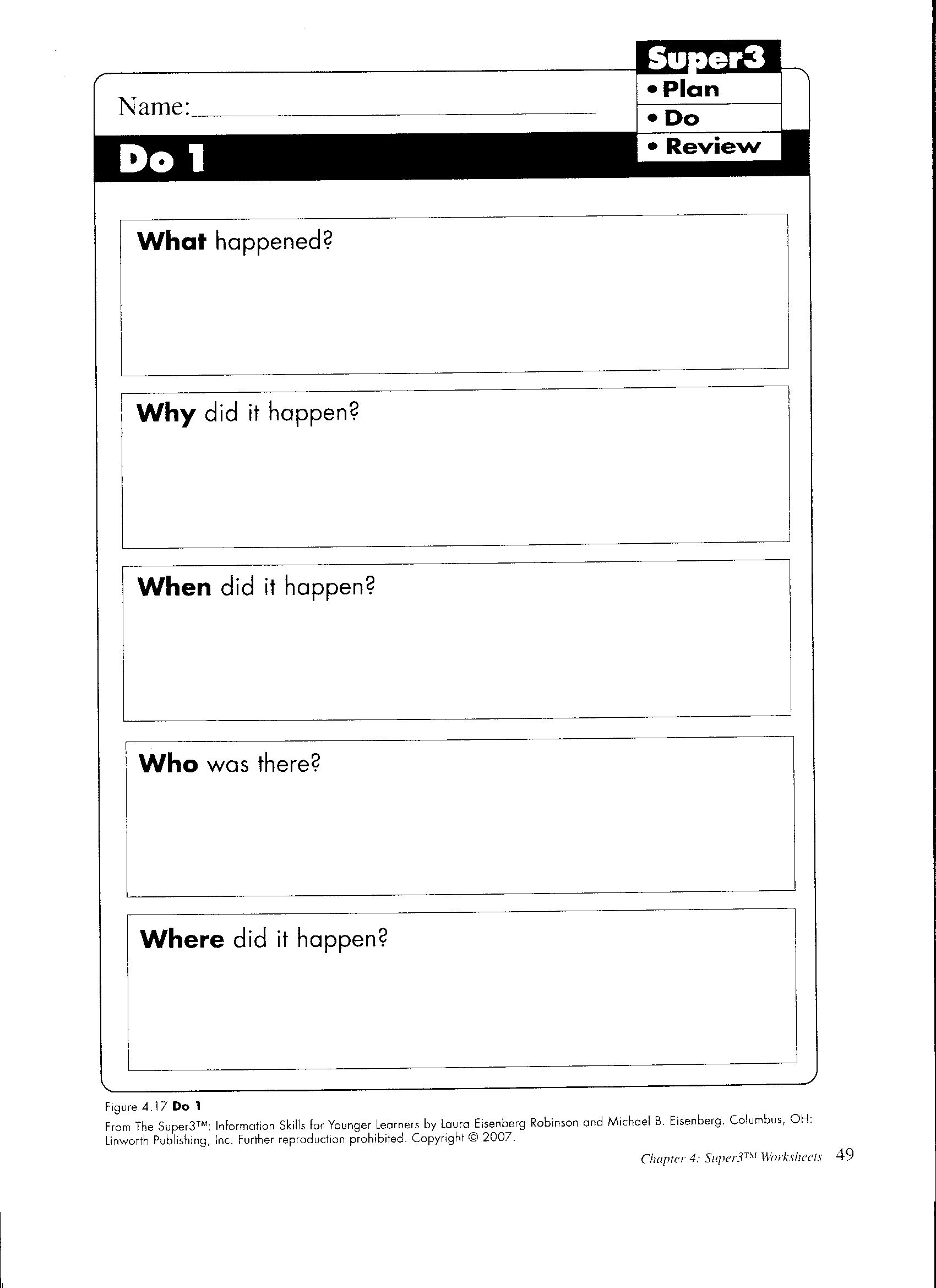 Wh Worksheet Super3 P49