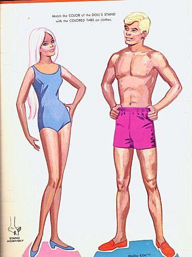 Malibu Barbie & Ken