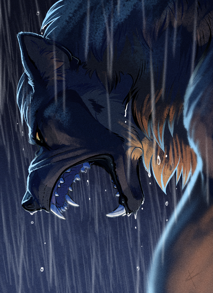 YELLS AT RAIN by Kaylink.deviantart.com on @DeviantArt
