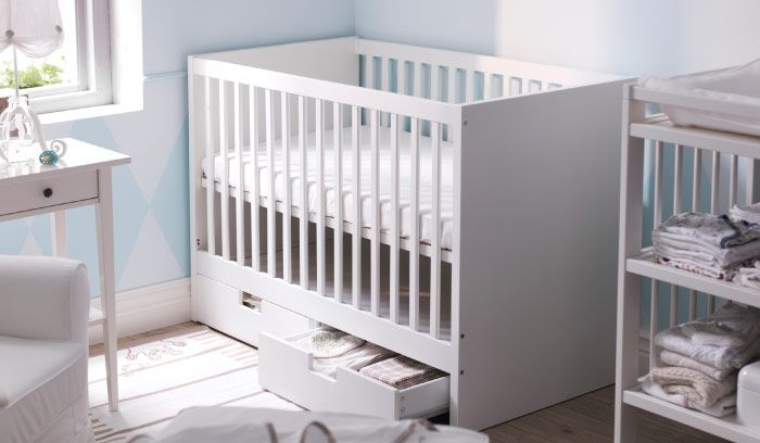 Mobilier Et Decoration Interieur Et Exterieur Newborn Room Ikea Nursery Ikea Crib