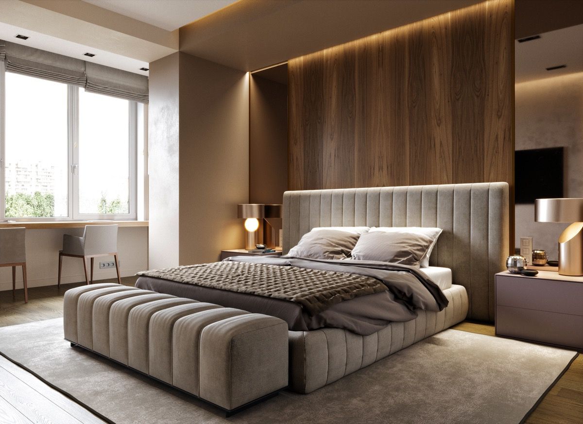 51 Modern Bedrooms With Tips To Help You Design Accessorize Yours Stylish Bedroom Design Luxurious Bedrooms Beautiful Bedrooms Master