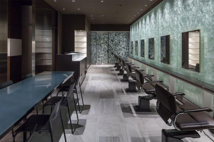 Mona Beauty Salon By Grip Co Oyama Japan Retail Design Blog Beauty Salon Design Design Salon Design