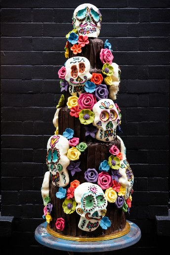Wedding Magazine Lookbook Bright And Beautiful Cake Ideas