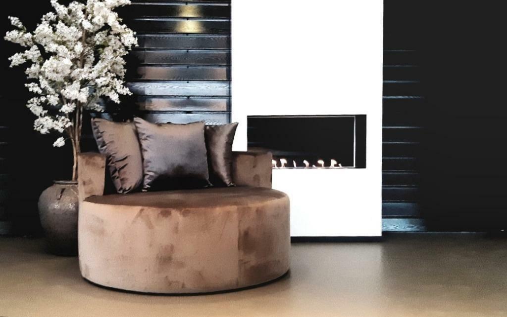 ≥ chique velvet fauteuil eric kuster style op maat gemaakt