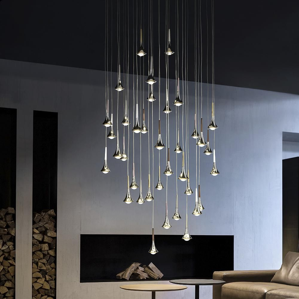 Rain Multi Light Pendant Round Pendant Light Multi Light