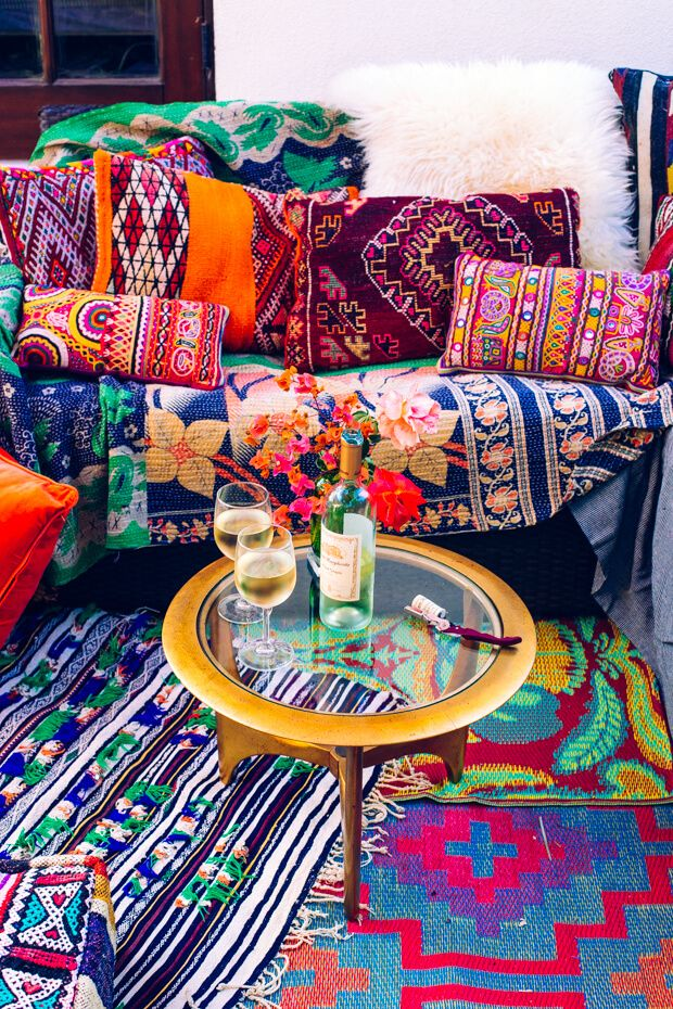 How to create your own perfect boho outdoor styled patio in 6 easy ...